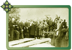 Picture of Graveside Service for Glen Huntly Pioneers