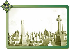 View of St Kilda Cemetery by Gus Allen